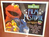 SesameStreet4DFilmFestivalPoster