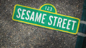 Sesame Street season 40 title card