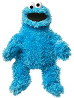 Sesame place plush cookie puppet 15