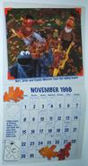 Sesame street calendar 1998 11