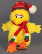 Applause big bird christmas mini plush