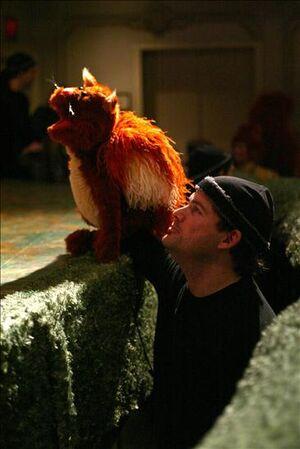 James Silson with Jiffy