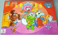 Milton bradley babies puzzle band