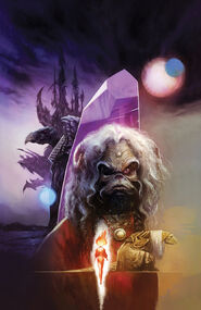 Power of the Dark Crystal 01 Mike Huddleston cover