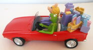 San francisco music box company kermit collection all wrapped up music box figurine 4