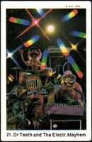Sweden swap gum cards 21 dr teeth electric mayhem
