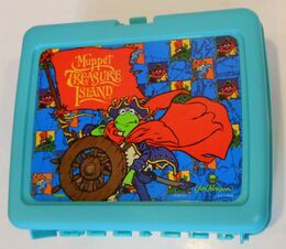 Thermos muppet treasure island lunchbox 1996 2