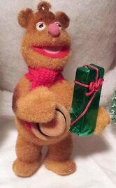 Alderbrook fozzie christmas ornament 1987