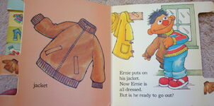 Ernie gets dressed 4