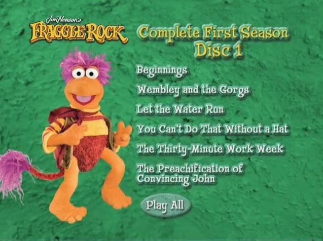 fraggle rock complete first season muppet wiki fandom