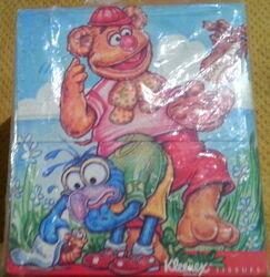 Kleenex 1988 muppet tissue box 5