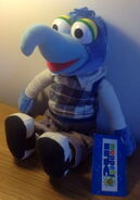 Play by play 1988 plush gonzo