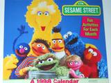 Sesame Street: A 1998 Calendar