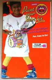Tulip productions 1989 paint your shirt crafts kit 1