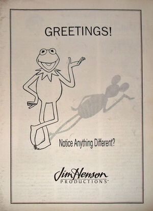 1989 Disney Henson trade ad