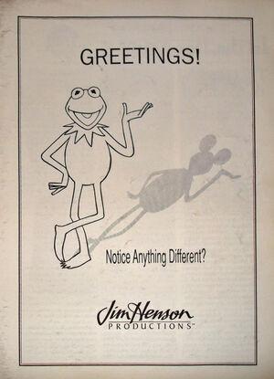 1989 Disney Henson trade ad