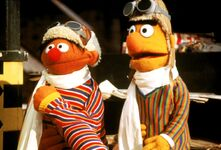 Follow That Bird Ernie Bert pilots