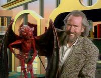 Jim with devil Monster Maker episode