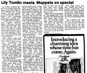 Lily Tomlin The Paris News May 15 1981