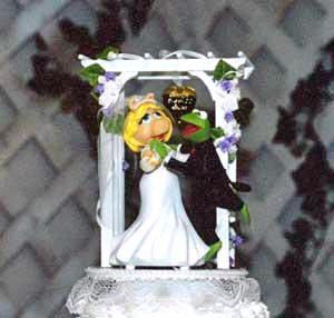 Muppet Wedding Cake Topper