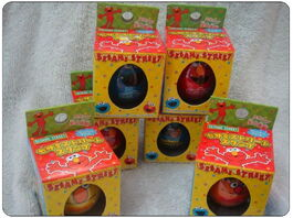 Sanrio egg rubber stamp package front