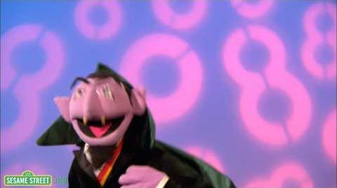 Sesame Street The Count Sings of 8