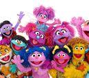 Sesame Workshop's Muppet girls from around the world