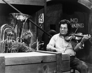 Telly and Itzhak Perlman 1980