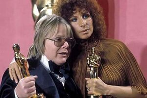Barbra Streisand and Paul Williams