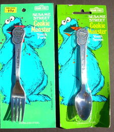 Demand marketing cookie monster silverware 1