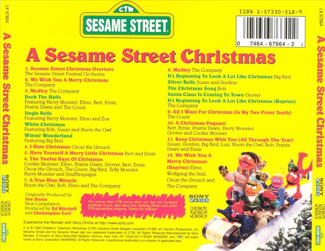 A Sesame Street Christmas (album) | Muppet Wiki | FANDOM powered ...