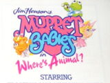 Muppet Babies: Where's Animal?