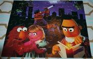 Milton bradley 1993 sesame puzzle fireflies