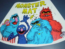 Placemat 1978 monster mat