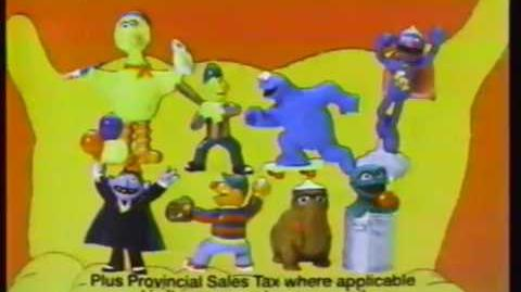 Shell Sesame Street Applause PVCs 1988