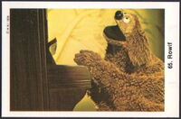 Sweden swap gum cards 65 rowlf