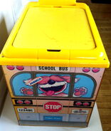 Fisher-price sesame street toy box and chair 5