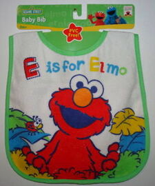 Hamco bib e is for elmo