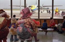 FTB plane arrival