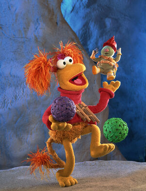 FraggleRock-DoozerBalancingRed