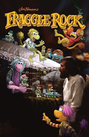Fraggle Rock Journey to the Everspring 01 variant