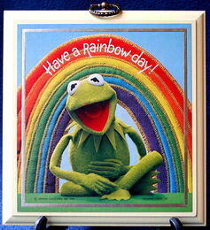Kermit have a rainbow day