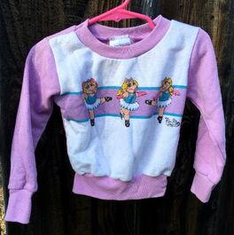 Muppet togs 1985 ballet sweatshirt 1