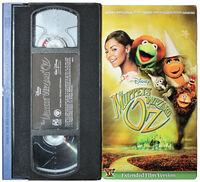 Muppets Oz VHS