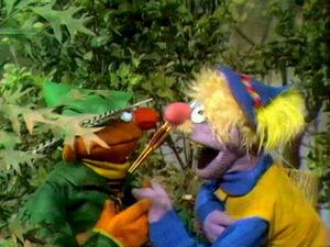 Robin Hood Ernie Harvey Kneeslapper