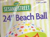 Sesame Street swim toys