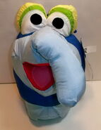 Play by play 1997 muppets inc gonzo play faces plush 3