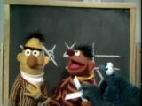 Cookie Monster and Ernie