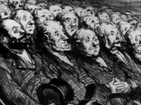 Honoré Daumier - Les Spectateurs de l'orchestre 1