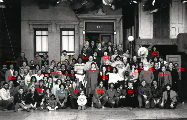 SS Cast & Crew 1984 (with names)